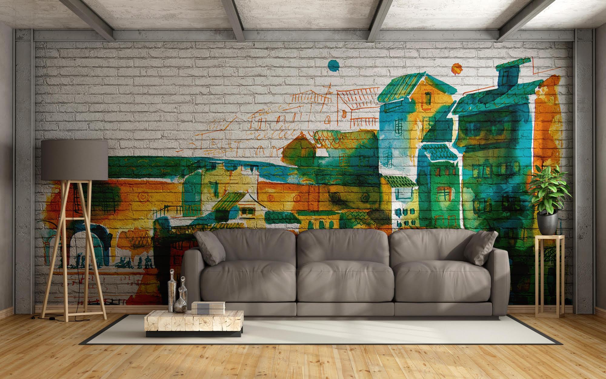 Decorazioni d 39 interni affreschi digitali e decorazioni murali artemuro - Decorazioni d interni ...